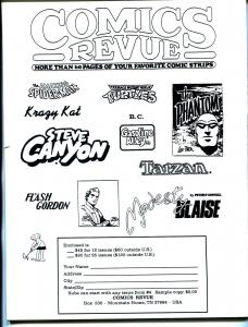 Comics Revue #81 1992-Gasoline Alley-Flash Gordon-Modesty Blaise-Krazy Kat-VF