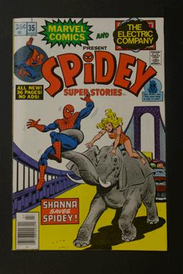 Spidey Super Stories #35 Sept 1978 Marvel & Electric Company