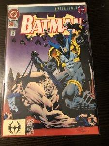 Batman 500 2nd Print Dc 1993 Azrael Knightfall Rare Purple Logo Vf/nm