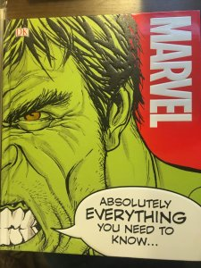Marvel Absolutely EVERYTHING You Need To Know...(hard cover)