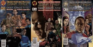 Star Trek: Deep Space Nine (DS9) #4-6 Newsstand Covers (1993-1996) Malibu Com...