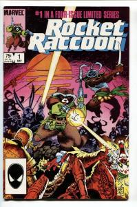 ROCKET RACCOON #1 comic book 1st ISSUE MARVEL KEY HIGH GRADE