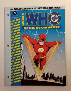 WHO'S WHO IN THE DC UNIVERSE #2 COMPLETE DC COMICS 1990 VF/NM THE FLASH