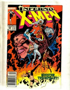 11 Uncanny X-Men Comic Books # 243 245 246 247 249 251 252 253 255 259 260 HY5