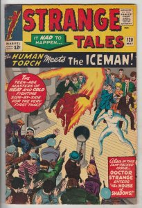 Strange Tales #120 (May-64) FN- Mid-Grade Human Torch, Doctor Strange