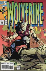 Wolverine #77 VF/NM; Marvel   save on shipping - details inside