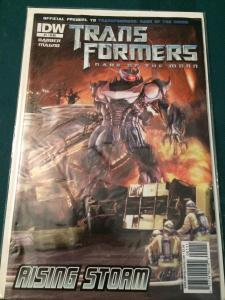 Transformers Dark Of The Moon Prequel #1 Rising Storm