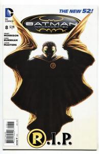 Batman Incorporated #8 Death of Damian Wayne  DC comic book NM-
