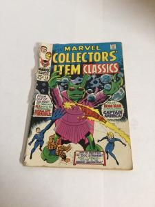 Marvel Collectors Item 18 Gd- Good- 1.8 Cover Detacted Silver Age