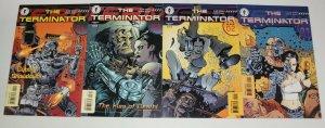 Terminator vol. 2 #1-4 VF/NM complete series  dark horse comics 1998 set lot 2 3