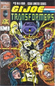 G.I. Joe and the Transformers #3, NM- (Stock photo)