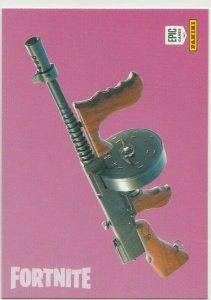 Fortnite Drum Gun 139 Uncommon Weapon Panini 2019 trading card series 1