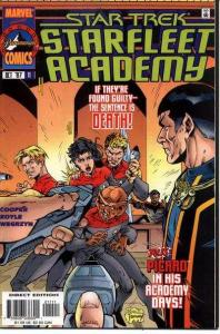 Star Trek: Starfleet Academy (1996 series) #11, NM- (Stock photo)