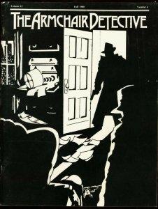 ARMCHAIR DETECTIVE V.13 #4-1980-FANZINE-JUDSON PHILLIPS FN