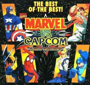 Marvel VS Capcom Super Heroes Arcade FLYER 1998 Original Venom Spiderman MegaMan