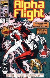 ALPHA FLIGHT (1983 Series)  #92 Very Fine Comics Book