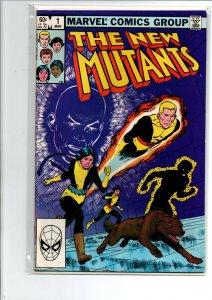 New Mutants #1 - Origin Karma - 1983 - (-Near Mint)