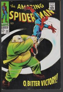AMAZING SPIDER-MAN #60-1967-KINGPIN-HIGH GRADE-SILVER-AGE