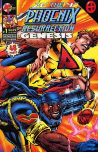 Phoenix Resurrection, The: Genesis #1 VF/NM; Malibu | save on shipping - details