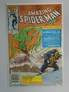 Amazing Spider-Man #277 News Stand edition 6.0 FN (1986 1st Series)