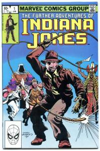 FURTHER ADVENTURES OF INDIANA JONES #1 1983-MARVEL VF/NM.