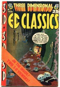 THREE DIMENSIONAL EC CLASSICS #1 1954-WALLY WOOD VG/FN