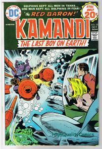 KAMANDI #22, VF, Jack Kirby, Last Boy on Earth, 1972, more JK in store