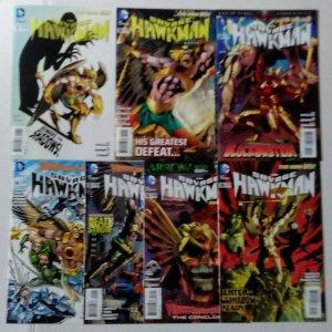 Savage Hawkman Comic Book Lot of (7) DC Comics CL70/06