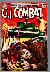 G.I COMBAT #85-REALLY COOL GREYTONE COVER-DC WAR SILVER AGE VG