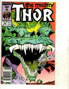 10 Thor Marvel Comics # 380 379 378 377 376 375 374 373 372 371 Spider-Man DS3