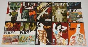 Nick Fury MAX #1-13 VF/NM complete series - garth ennis - my war gone by set lot