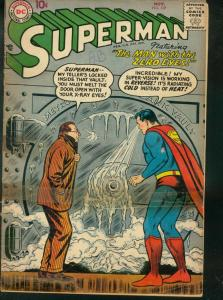 SUPERMAN #117 1957 DC X-RAY VISION TEDDY ROOSEVELT FR/G