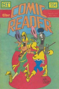Comic Reader, The #143 VF; Street Enterprises   save on shipping - details insid