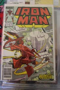 Iron Man 217  VF/NM