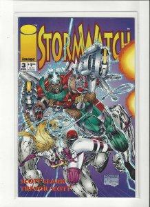 Jim Lee's Stormwatch # 3 Image Comics Brandon Choi art Unread NM