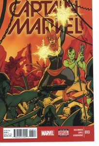 Captain Marvel 13  (2014 series)  9.0 (our highest grade)