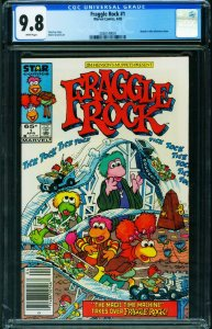 Fraggle Rock #1 CGC 9.8 Newsstand variant-1st issue 2038149001