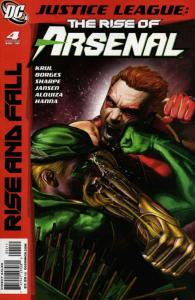 Justice League: The Rise of Arsenal #4 FN; DC | save on shipping - details insid