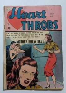 Heart Throbs #19 (Mar 1953, Quality) G/VG 3.0 Ogden Whitney art