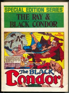 Special Edition Series #2 1974-The Ray & Black Condor-Quality Superheroes-FN