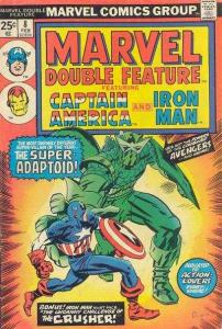 Marvel Double Feature #8, VG+ (Stock photo)