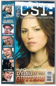 CSI DYING in the GUTTERS #5, VF, Photo cover, 2006, Las Vegas, more in store