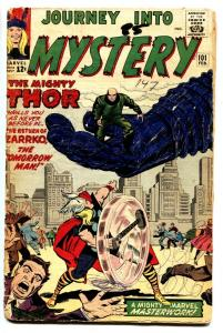 JOURNEY INTO MYSTERY #101 comic book 1964-THOR-AVENGERS CROSSOVER g-