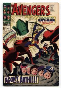 Avengers #46 Ant-Man returns high grade copy vf+1967 marvel