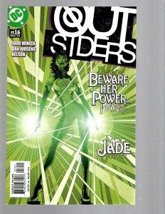 10 DC Comics Outsiders # 16 21 22 23 24 28 36 37 39 50 J438
