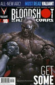 Bloodshot and H.A.R.D. Corps #18 FN; Valiant   save on shipping - details inside