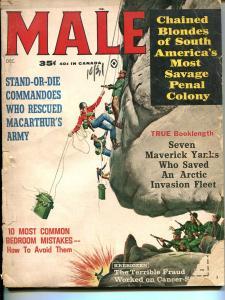 Male 12/1963-Atlas-Mafia-WWII-cheesecake-Popp-Pollen-Kunstler-P