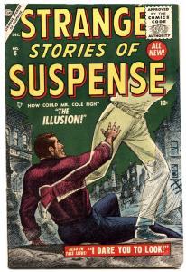 STRANGE STORIES OF SUSPENSE #6 1955-ATLAS-Bill Everett-Horror-Sci-Fi