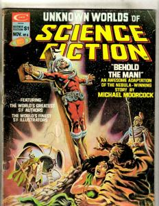 Unknown Worlds Of Science Fiction # 6 Curtis Comic Book Magazine Sci-Fi JK1