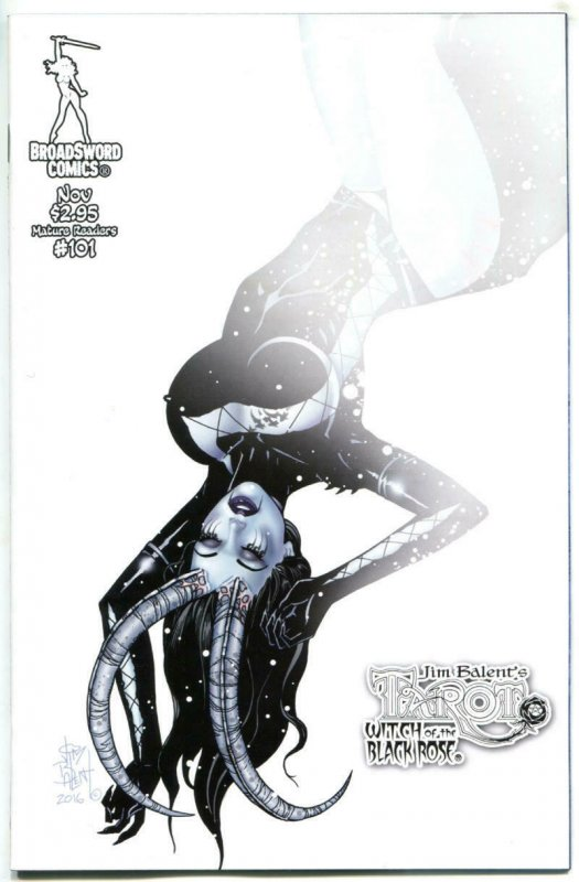 TAROT WITCH of the Black Rose #101, NM, Jim Balent, 2000, Holly Golightly, Horns